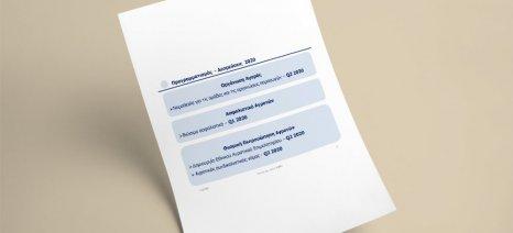 """Ολόκληρο το """"καλεντάρι"""" πρωτοβουλιών του υπουργείου Αγροτικής Ανάπτυξης για το 2020"""