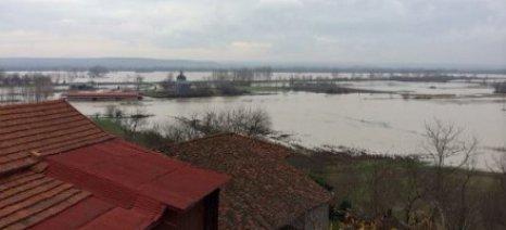 Πλημμύρισαν καλλιέργειες 200 στρεμμάτων στο Πύθιο Έβρου