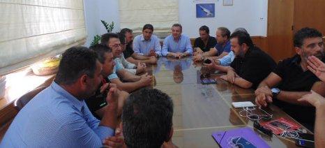 Λίγο πριν τον τρύγο χάθηκε μεγάλο ποσοστό της παραγωγής σταφυλιών στην Κρήτη