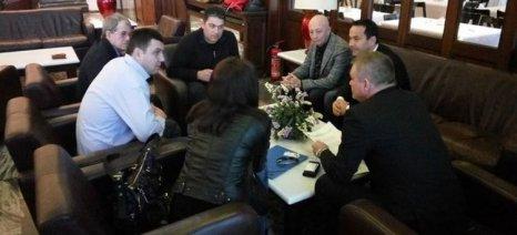 Συνάντηση της περιφέρειας Δυτικής Ελλάδας με αντιπροσώπους δύο ρουμάνικων περιφερειών για προώθηση εξαγωγών