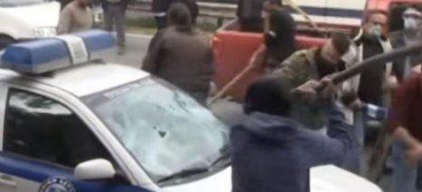"""Συνελήφθη στην Κόρινθο ο Χρυσαυγίτης """"αγρότης"""" που έσπασε το περιπολικό"""