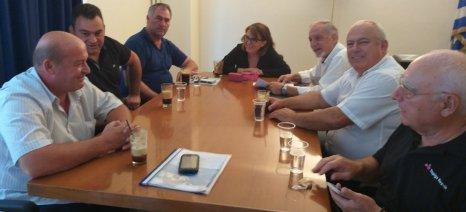 Για τα τρέχοντα προβλήματα της κτηνοτροφίας συζήτησαν Τελιγιορίδου-ΣΕΚ