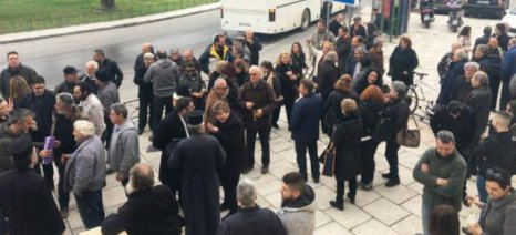 Διαμαρτυρία από κατοίκους χωριών του Πλατανιά Χανίων που επλήγησαν από την κακοκαιρία