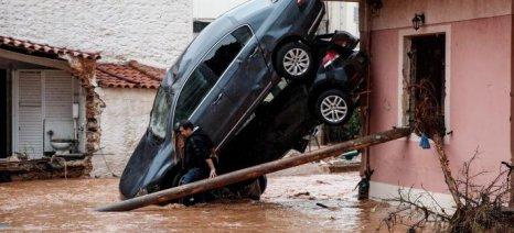 Στους πλημμυροπαθείς της Δυτικής Αττικής συμπαραστέκεται η Πανελλαδική Επιτροπή των Μπλόκων