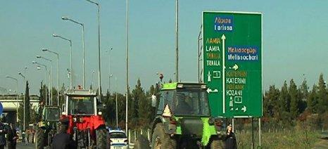 Σε Παλαμά και κόμβο Πλατυκάμπου με τρακτέρ σήμερα οι αγρότες για τις τιμές του βάμβακος
