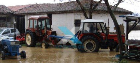 Πλημμύρισε η Ροδόπη, απεγκλωβισμοί σε σπίτια, επικίνδυνο οδικό δίκτυο