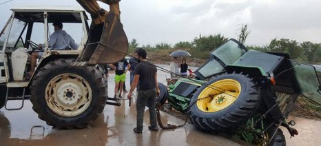 Αναγγελίες ζημιάς προς τον ΕΛΓΑ σε όλες τις περιοχές που επλήγησαν από θεομηνίες - απαραίτητη η Δήλωση Καλλιέργειας