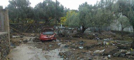 Στη Λέσβο μεταβαίνει αύριο ο Βαγγέλης Αποστόλου για τις ζημιές από τις πλημμύρες