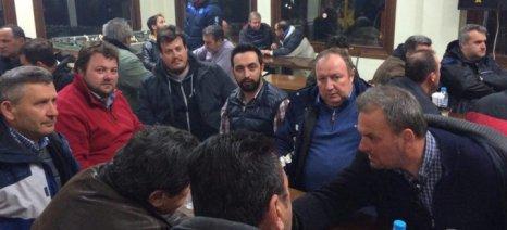 Συνάντηση Αραμπατζή-Κοκκινούλη για να σωθεί η κατάσταση, μετά την ένταση στη Σίνδο