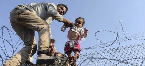 Σκηνές ντροπής στα σύνορα Ελλάδας-ΠΓΔΜ