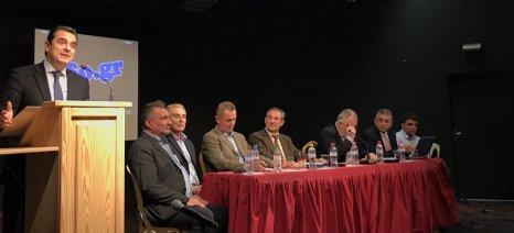 Σκρέκας στη Συνέλευση του ΠΣΑΦ: Προτεραιότητα της Κυβέρνησης η μείωση του κόστους αγροτικής παραγωγής