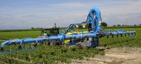 Έως 26 Νοεμβρίου η επιθεώρηση ψεκαστικών μηχανημάτων αγροτών