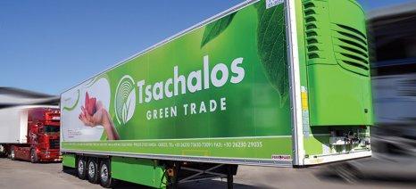 Τριαξονικό ψυκτικό θάλαμο από τη Schmitz Cargobull προμηθεύτηκε η Τσάχαλος Αθανάσιος ΑΕ