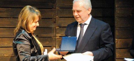 Μία αγρότισσα, δύο συγγραφείς και μία ηθοποιό, τίμησε η Πανθεσσαλική Στέγη