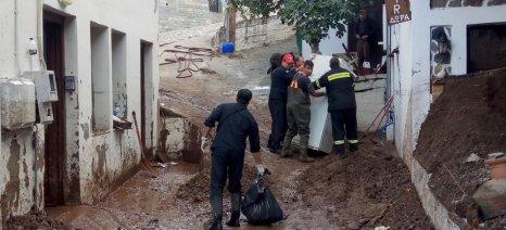 Σχεδόν 2.500 αιγοπρόβατα «έθαψε» η καταιγίδα στη Σαμοθράκη