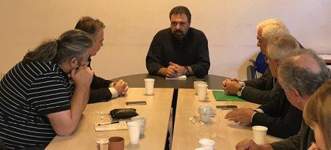 Σε κλίμα συνεννόησης η συνάντηση Αραχωβίτη με ΣΑΣΟΕΕ