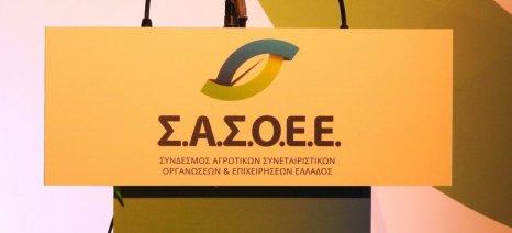 Τη στήριξη των αγροτικών προϊόντων που πλήττονται από τη φθηνή τουρκική λίρα ζητά ο ΣΑΣΟΕΕ
