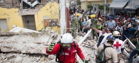 255 νεκροί από τα φονικά 7,1 Ρίχτερ στο Μεξικό