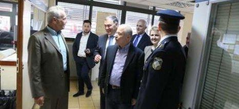 Πλημμύρες, μετανάστες και ομάδες παραγωγών απασχόλησαν τον Σγουρίδη στο Κιλκίς