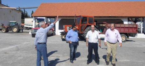 Τον Αγροτικό Συνεταιρισμό Παιανίας επισκέφθηκε ο Παναγιώτης Σγουρίδης