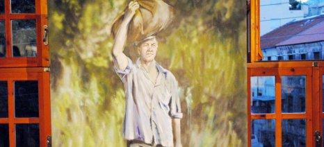 """Εγκαίνια για την έκθεση ζωγραφικής """"Σήματα Καπνού"""" της Ειρήνης Βογιατζή στην Ξάνθη"""
