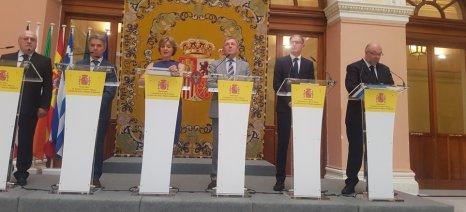 Κοινή δήλωση έξι χωρών για διατήρηση των κονδυλίων της ΚΑΠ, μεταξύ αυτών Ελλάδα και Γαλλία