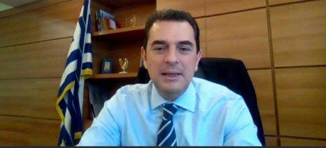 Επέστρεψε από την καραντίνα ο υφυπουργός Αγροτικής Ανάπτυξης, Κώστας Σκρέκας