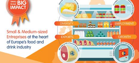 Ο ΣΕΒΤ συμμετέχει στην πρωτοβουλία της Food Drink Europe για τις Μικρο - Μεσαίες Επιχειρήσεις