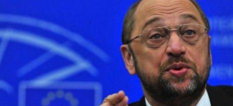 """Μ. Σούλτς: """"Δίκαιη αντιμετώπιση για την Ελλάδα"""""""