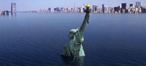 Η στάθμη της θάλασσας μπορεί να ανέβει μέχρι ένα μέτρο έως το 2100
