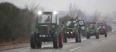 Συγκεντρώσεις των τρακτέρ στα χωριά των Σερρών από τη Δευτέρα και πορεία στη συνέχεια για τον Προμαχώνα