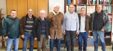 Αντιμετωπίζονται τα προβλήματα των αγροτών στη Λυγαριά Τυρνάβου