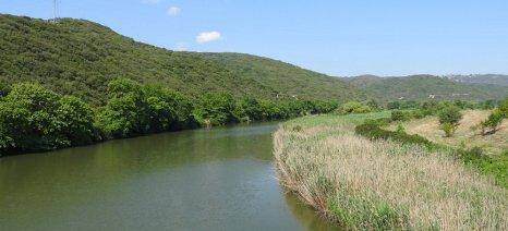 Υπογράφτηκε η σύμβαση για την αποκατάσταση των ζημιών στα αναχώματα του Στρυμόνα