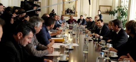Αφορολόγητο 9.500 ευρώ απέσπασαν οι αγρότες στη συνάντηση με τον Τσίπρα