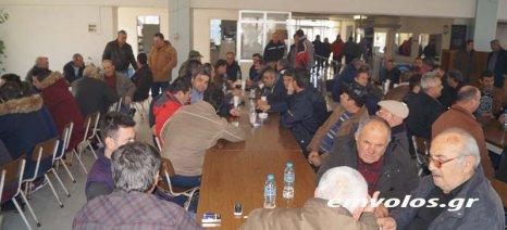 Κοσμοσυρροή από παραγωγούς στην ενημερωτική συνάντηση στο Πλατύ - στόχος τα 120.000 στρέμματα