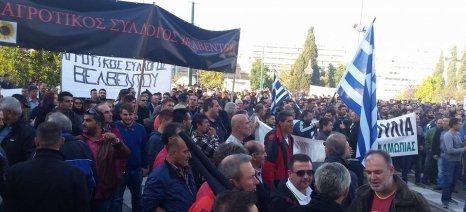 Διαμαρτυρία στο Βελβεντό - συγκεντρώνονται αυτή την ώρα οι αγρότες