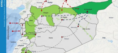 Με εισαγωγές από τη Ρωσία θα καλύψει την ελλιπή σοδειά σιταριού η Συρία