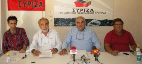 Συνεδριάζει το δίκτυο αγροτών του ΣΥΡΙΖΑ στη Λάρισα