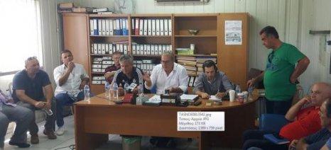 Σύσκεψη ομάδων παραγωγών στα Καλύβια Πέλλας, με πρωτοβουλία Σηφάκη για κοινή εκπροσώπηση