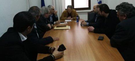 Σύσκεψη για την αντιμετώπιση των ελληνοποιήσεων της πατάτας έγινε στο ΥΠΑΑΤ