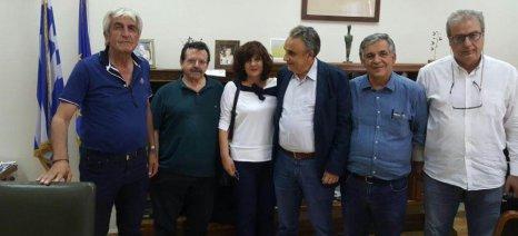 Σύσκεψη υπό τον Αντώνη Παπαδεράκη για τον έλεγχο της διακίνησης αγροτικών προϊόντων
