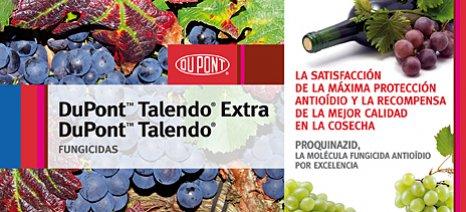 Άδεια κυκλοφορίας πήρε το Talendo Extra κατά του ωιδίου στο αμπέλι