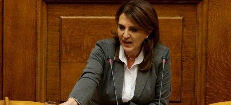 Στις Σέρρες η υφυπουργός Αγροτικής Ανάπτυξης Ολ. Τελιγιορίδου