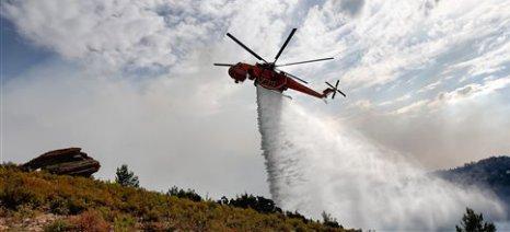 Καταβάλλονται κρατικές ενισχύσεις για πυρκαγιές και άλλες ζημιές του 2015 - 2017