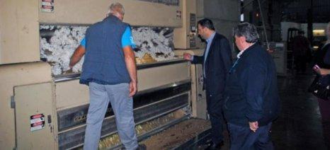 """Με την """"Πρωτοβουλία Αγροτών"""" και τον εκκοκκιστή Νίκο Ουσουλτζόγλου συναντήθηκε ο Θεοχαρόπουλος"""