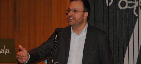 Στα προβλήματα των αγροτών αναφέρθηκε, μεταξύ άλλων, ο Θεοχαρόπουλος σε ομιλία του στη Βέροια