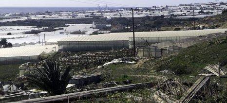 Δηλώσεις ζημιάς για τις καταστροφές από ανεμοθύελλα σε Ιεράπετρα και νότιο Ηράκλειο