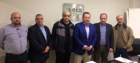 Τον Αγροτικό Συνεταιρισμό «ΘΕΣγη» επισκέφθηκε ο Κόκκαλης