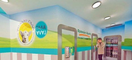 """Τυροκομείο και ΑΤΜ γίδινου γάλακτος από τον Κτηνοτροφικό Συνεταιρισμό """"Θρακών Αμνός"""""""