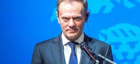 Τουσκ: Καλεί τα κράτη-μέλη της ΕΕ να ενωθούν μπροστά στην «απειλή» Τραμπ